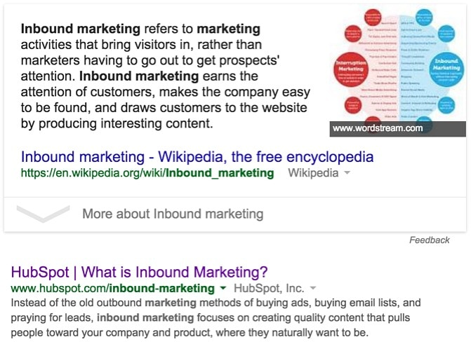 Google Featured Snippet Inbound Marketing - Wikipedia, the free encyclopedia
