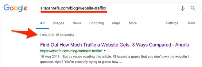 Google Find Out How Much Traffic a Website Gets