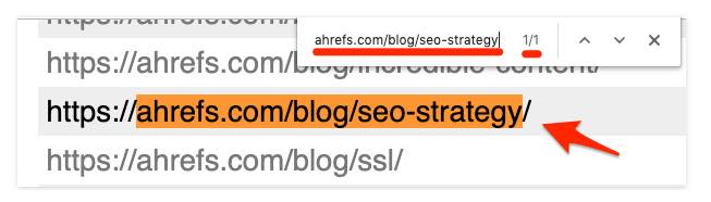 Google Head to your sitemap URL usually, yourdomain.com:sitemap.xml and search for the page