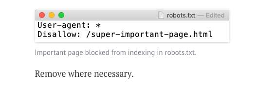 Google robots.txt remove where necessary