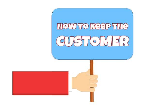 The secret of keeping your customer service is Convenience, finding a way to make their lives easier