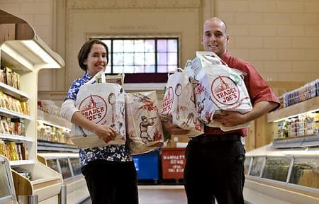 Trader Joe's said that given the extreme circumstances they would gladly deliver directly to his home