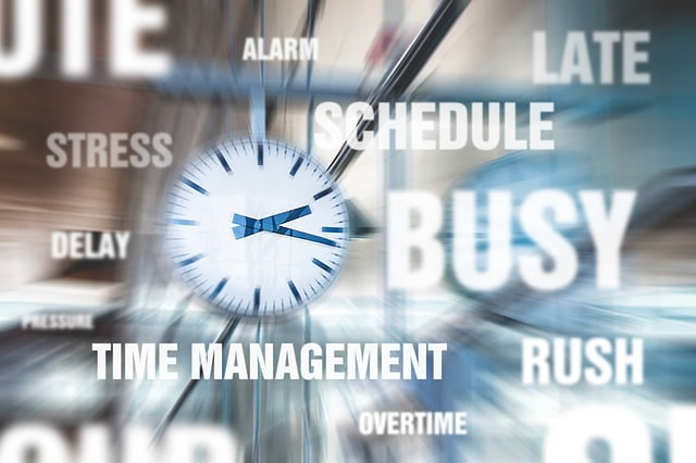 There is no such thing as time management, only self management