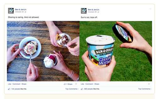 Capture your audience's attention using clever images
